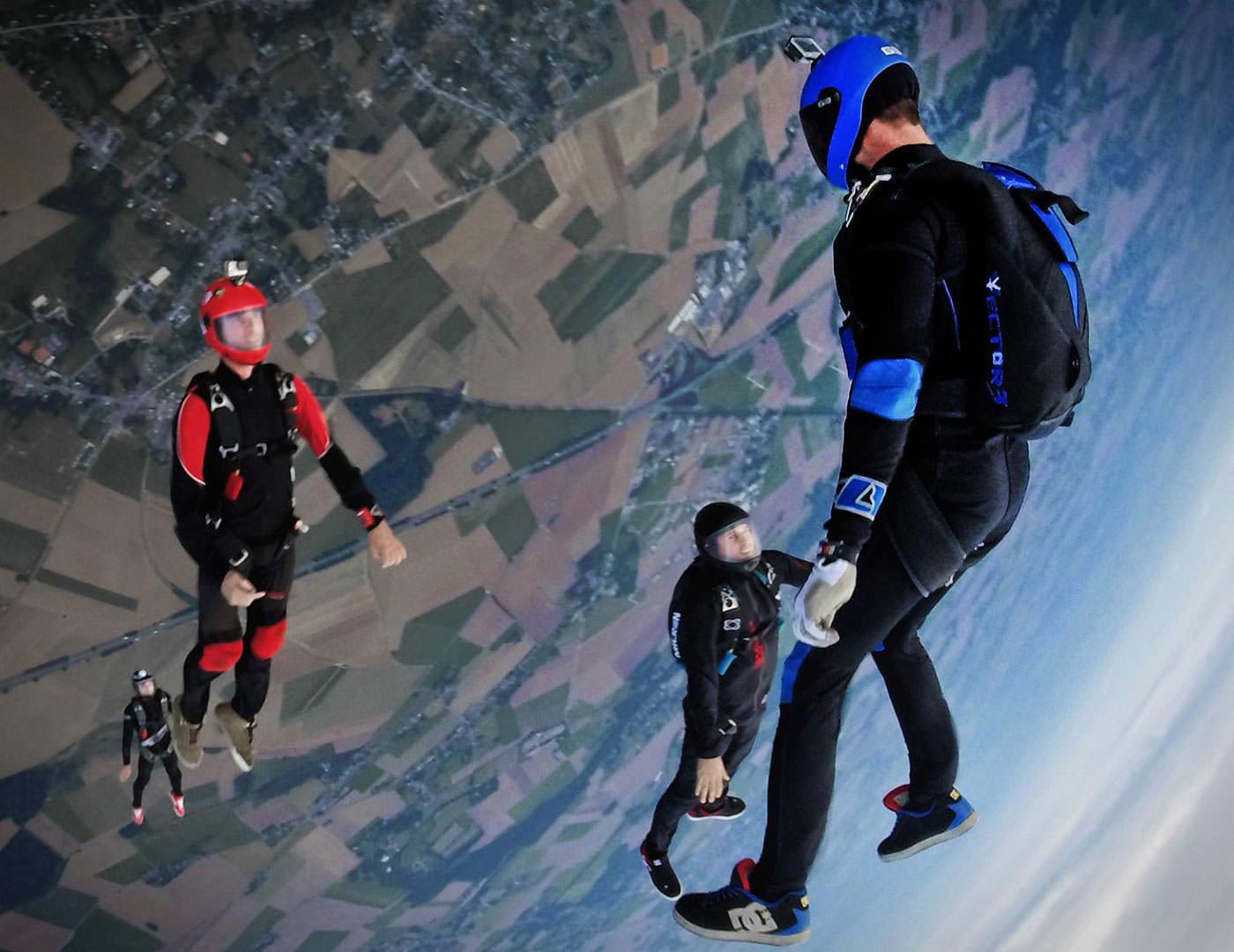 Coaching - Sky Dive